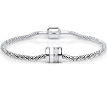 -Armband Edelstahl/Keramik Zirkon 17 32011488