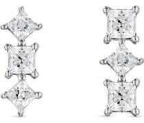 -Ohrstecker 925er Silber 2 Zirkonia One Size 87996344
