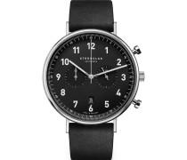 -Uhren Analog Quarz Hellbraun Leder 32015340