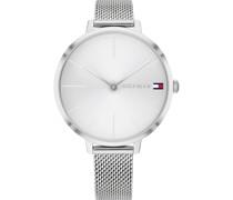 -Uhren Analog Quarz One Size Edelstahl 87814335