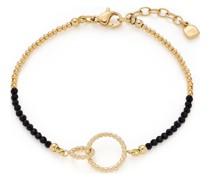 -Armband Edelstahl, Glas One Size 88099192