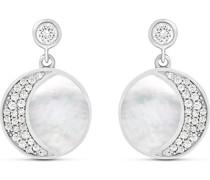 Silver-Ohrhänger 925er Silber Perlmutt One Size 87899926