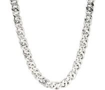 Collier rhodiniert, glanz, Silber 925