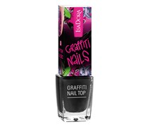 6 ml  Nr. 801 - Black Tag Graffiti Nail Top Nagellack