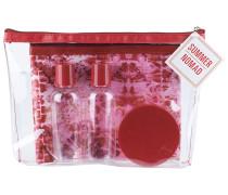 1 Stück  Flightbag mit leeren Tuben Reisetasche