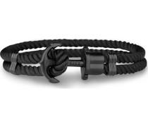 Unisex-Armband Perlon/Nylon, Edelstahl Xl 32003786