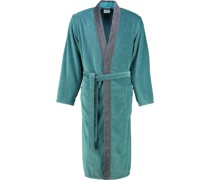 Bademantel Kimono Luxury Home 5840 türkis - 47
