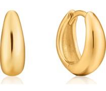 -Creolen Luxe Huggi Hoop 925er Silber 32014113