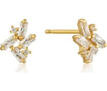 -Ohrstecker Glow Stud Earrings 925er Silber Zirkonia 32014128