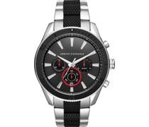 -Uhren Analog Quarz One Size Edelstahl 87429423