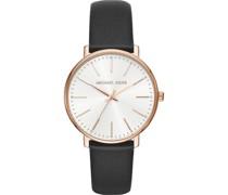 -Uhren Analog Quarz One Size Leder 87676102