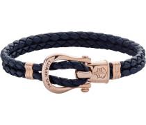 -Armband Female PHINITY SHACKLE Leder/Edelstahl L 32010398