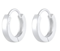 Ohrringe Creolen Basic Filigran Elegant Klassik 925 Silber