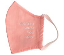 Soft Pink Protect What You Love Mundschutz & Maske