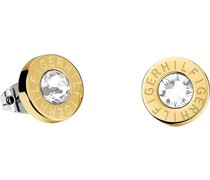 -Ohrstecker Edelstahl Swarovski Kristalle Gold Gold 32001081