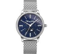 -Uhren Analog Quarz One Size Edelstahl 87559572