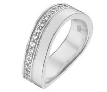 Silver-Damenring 925er Silber 15 Zirkonia 53 32004812
