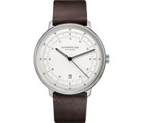 -Uhren Analog Quarz Grün Leder 32013678