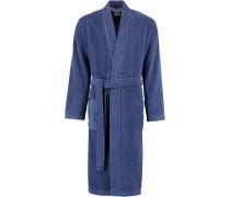 Bademantel Kimono 823 blau - 11
