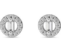 -Ohrstecker 925er Silber rhodiniert 28 Zirkonia One Size 87776506