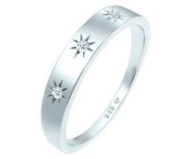 Ring Verlobung Astro Diamant (0.045 ct.) 585 Weißgold