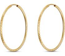 Gold-Creolen Flexible Creole 375er Gelbgold 30 32013461