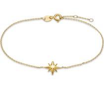 -Armband Armband Polarstern 375er Gelbgold One Size 87999246
