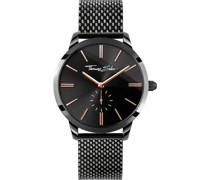 -Uhren Analog Quarz One Size Edelstahl 87041379