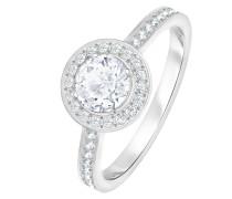 -Damenring Metall Kristalle 58 32004738