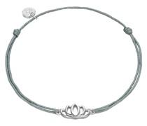Armband Lotusblume Sterling Silber silber Silberarmband