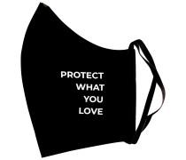 Black Protect What You Love Mundschutz & Maske