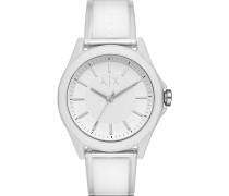 -Uhren Analog Quarz Weiß Kunststoff 32000723