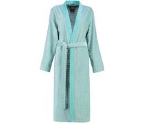 Bademantel Kimono Karo 4346 mint - 47