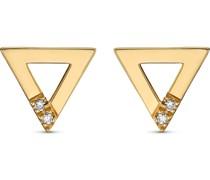 -Ohrhänger 375er Gelbgold 4 Diamant One Size 32013485