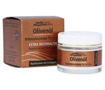 Olivenöl Intensivcreme Nutritiv Nachtcreme mit Collagen