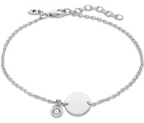 -Armband 925er Silber 1 Zirkonia One Size 87996514