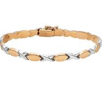 -Armband 375er Gelbgold, 375er Weißgold One Size 86768828