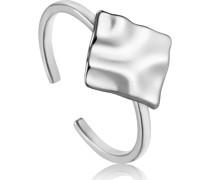 -Damenring Crush Square Adjustable Ring 925er Silber 32014158