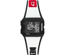 Unisex-Uhren Quarz Rot 32012427