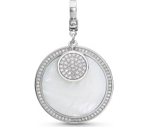 Silver-Charm Lucky Charm 925er Silber Zirkonia Roségold 32010641