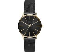 -Uhren Analog Quarz One Size Edelstahl 87364097