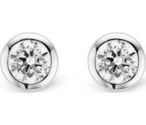 -Ohrstecker 925er Silber 2 Zirkonia One Size 88015339