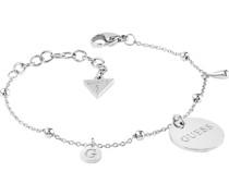 -Armband Edelstahl Silber 32011712