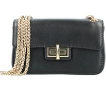 Jojo Mini Bag Umhängetasche Leder 17 cm Handtaschen Schwarz