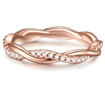 Ring Sterling Silber Zirkonia roségold