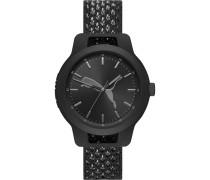 -Uhren Analog Quarz Schwarz 32013298