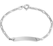 Unisex-I.D.-Armband I.D.-ARMBAND 925er Silber One Size 87770702