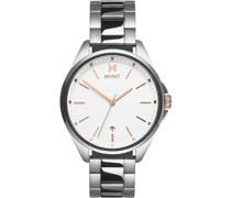 -Uhren Analog Quarz Silber 32014830