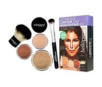 1 Stück  Dark All over Face Highlight & Contour Kit Make-up Set