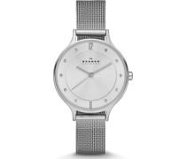 -Uhren Analog Quarz Silber 32002592